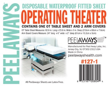Peelaways® Health- Operating Theater Set