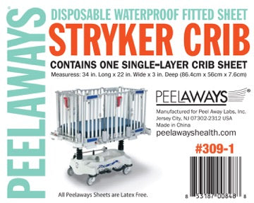 Peelaways® Stryker Crib Bed