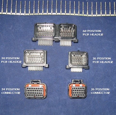 Hayabusa ECU connectors