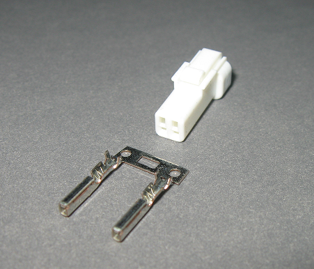 KOSO 2 pin Female Dash connector plug