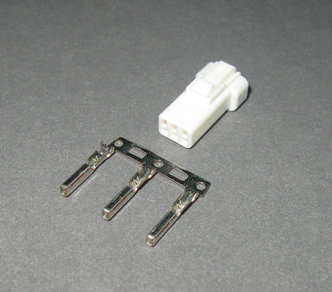 KOSO 3 pin Female Dash connector plug