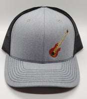 Jerry Garcia's Custom Doug Irwin Guitar Heather Grey Snapback Trucker Hat