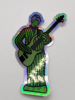 Cactus Gordon Holographic Die Cut Stickers