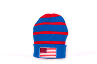 Phish Donuts and Stripes Fleece Lined Winter Beanie