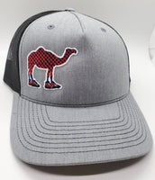 PHD Camel Walk Heather Grey Glow in the Dark Snapback Trucker Hat