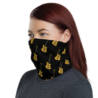 Wolf Guitar Neck Gaiter