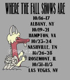 Where the Fall Shows Are - Phish T-shirt