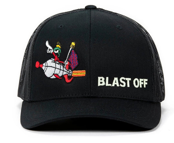 Blast Off Black Phish Hat