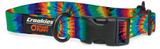 Tie Dye Haight Ashbury Large Dog Collar