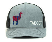 PHD Llama Taboot Glow In The Dark Heather Grey Trucker Hat