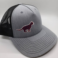 Phish Ocelot Heather Grey Glow in the Dark Snapback Trucker Hat