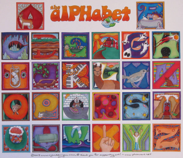 Phish AlPHabet Poster