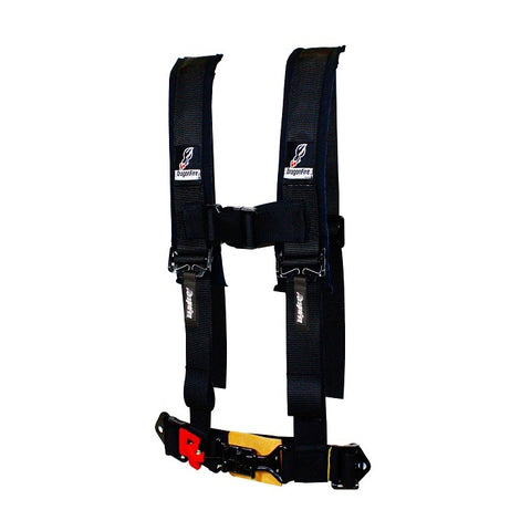 "Dragonfire Black UTV SXS Youth 4-Point H-Style 2"" Harness 14-0022"