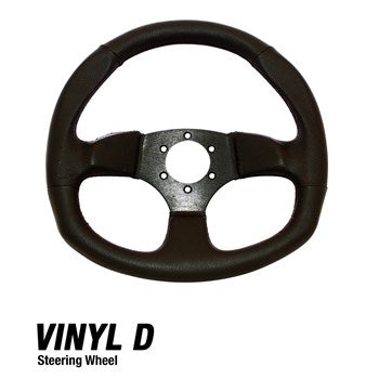 D Shaped UTV Steering Wheel