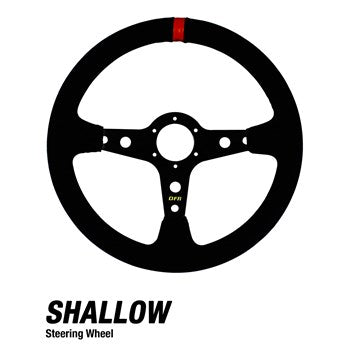 Shallow UTV Steering Wheels