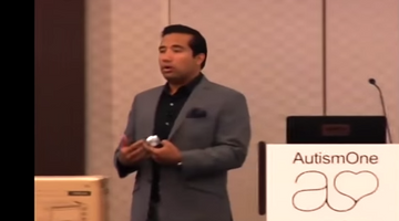 Microbiologist Kiran Krishnan Speaks at AutismOne