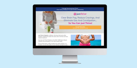 Just Thrive Probiotic Science