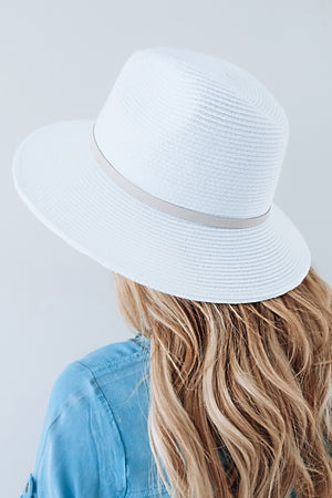 Small Changes Hat: White