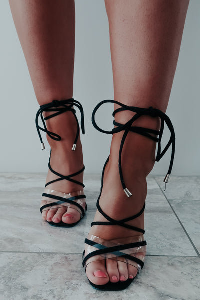 RESTOCK: Sweet Emotions Heels: Black