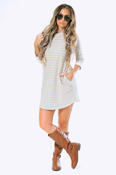 Live This Way Dress: Multi