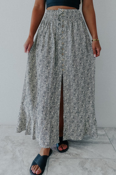 Breaking Point Maxi Skirt: Multi