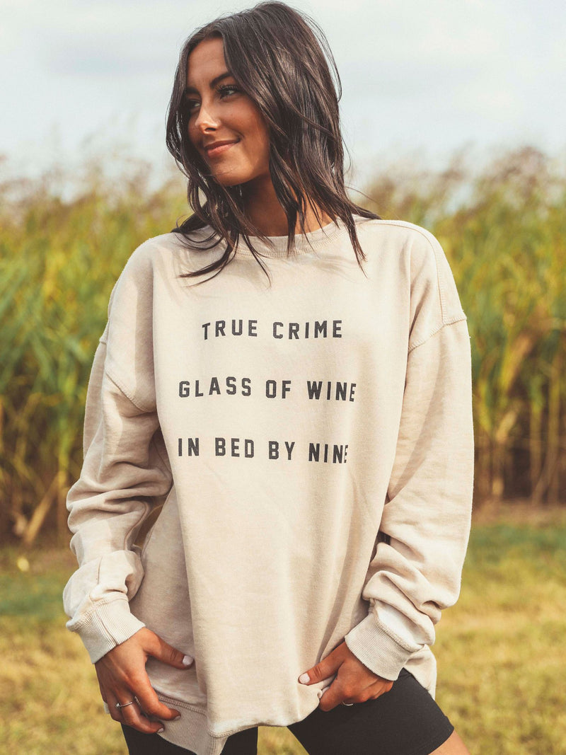 Friday+Saturday: True Crime Sweatshirt
