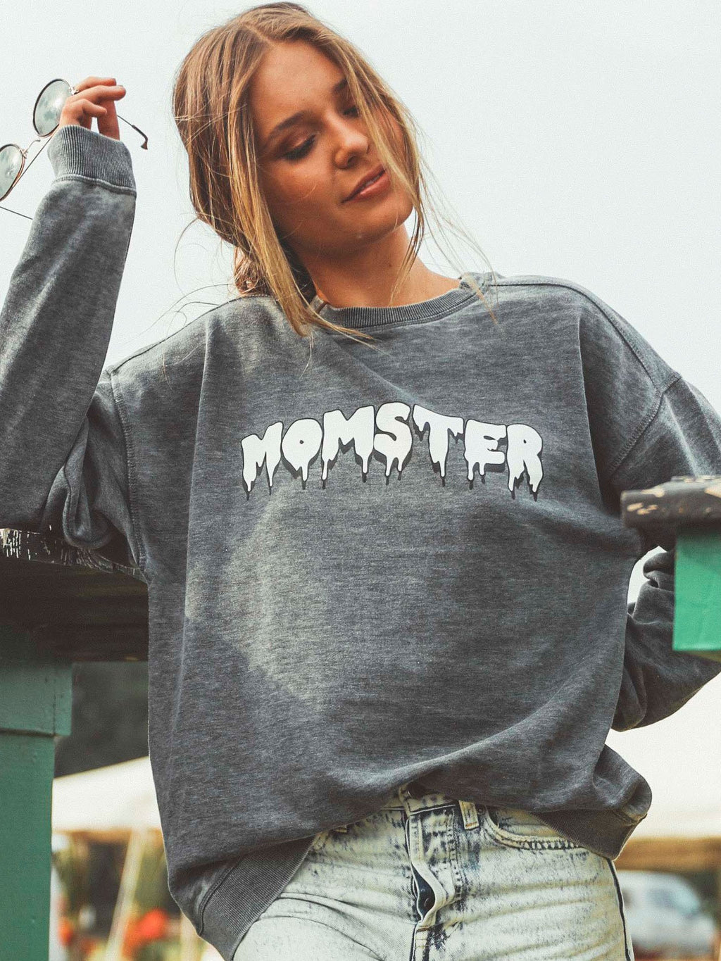 REORDER: Friday+Saturday: Momster Sweatshirt