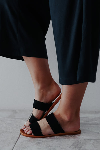 Summer Classic Sandals: Black