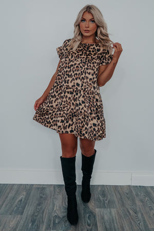 Pick Of The Patch Dress: Cheetah