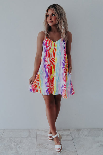 Taste The Rainbow Dress: Multi