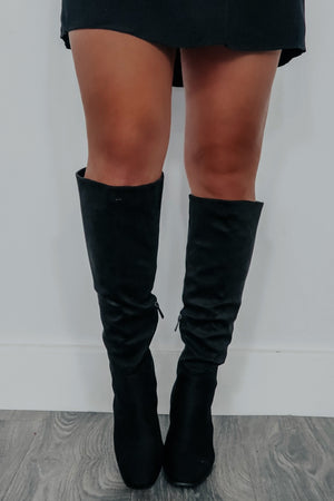 Back For Good Boots: Black