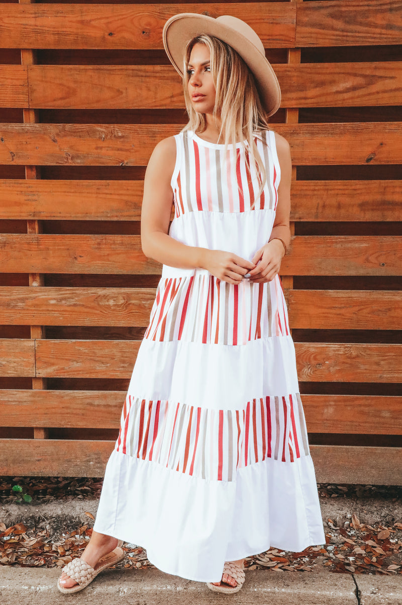Come Alive Maxi Dress: Multi