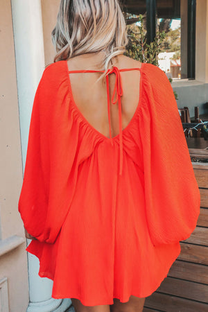 RESTOCK: Very Becoming Dress: Coral Red
