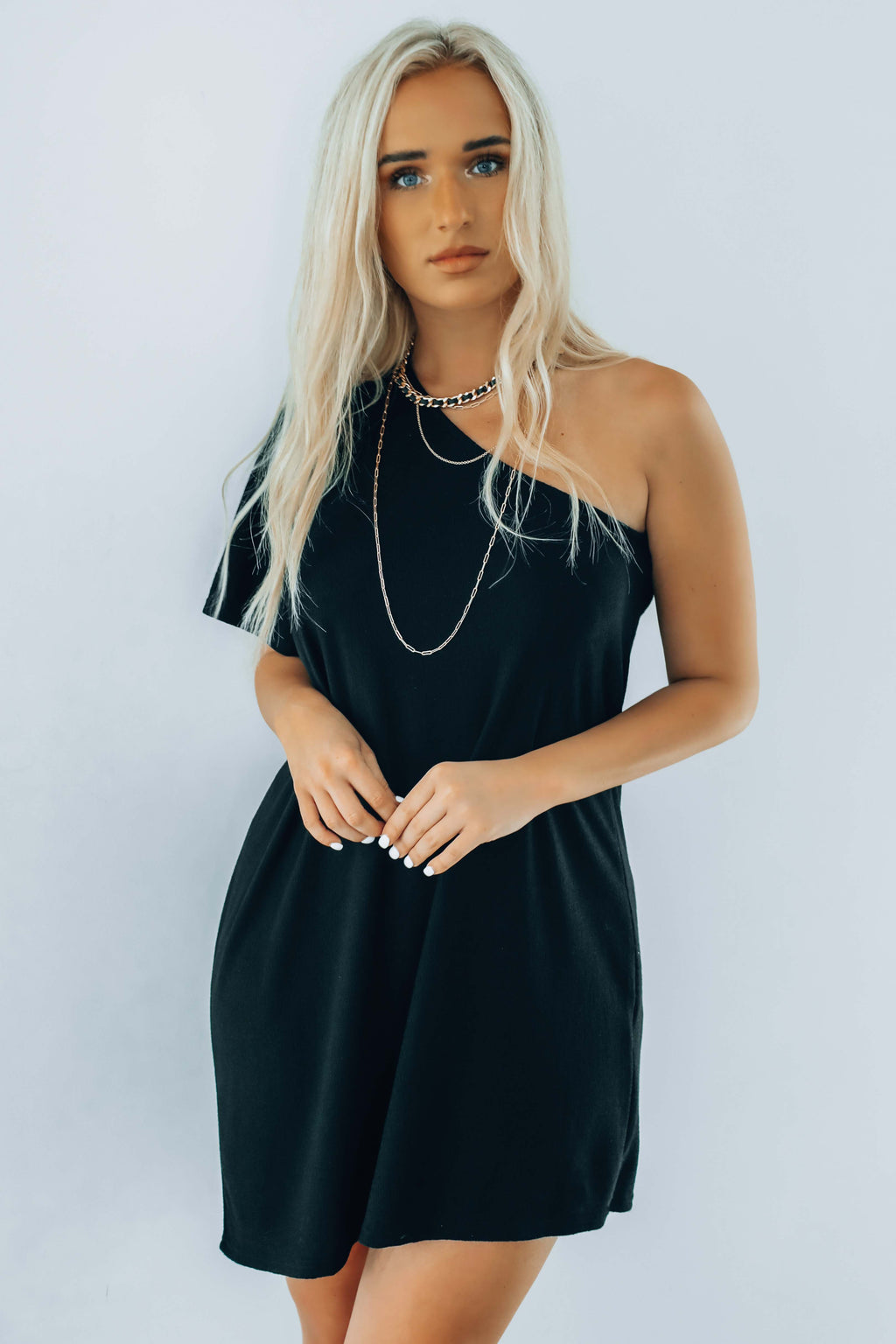 Looking Great Dress: Black
