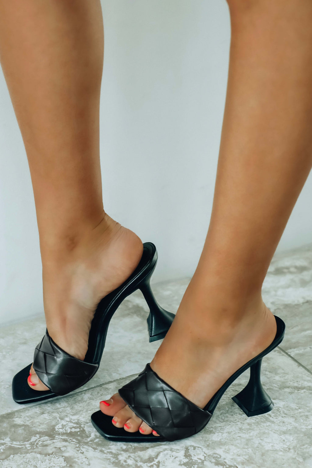 Spur Of The Moment Heels: Black