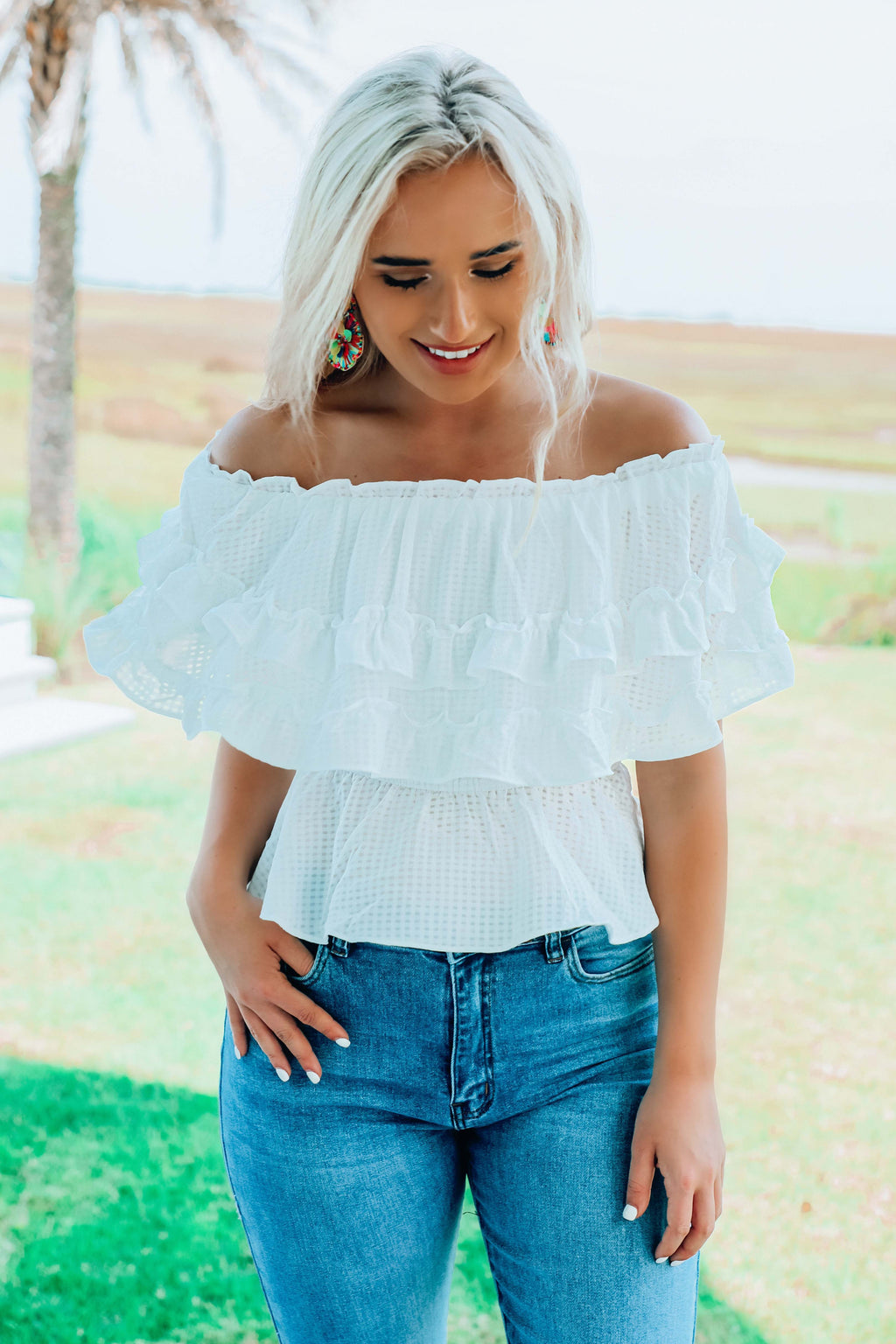A Love Like This Top: White