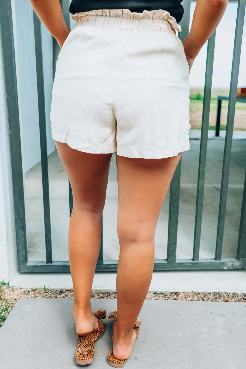 Prep School Shorts: Beige