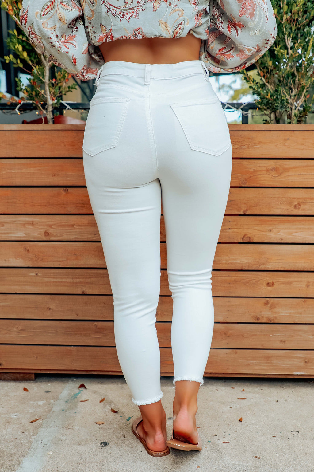 The Best Pick Pants: White
