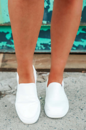Leave Your Mark Sneakers: White