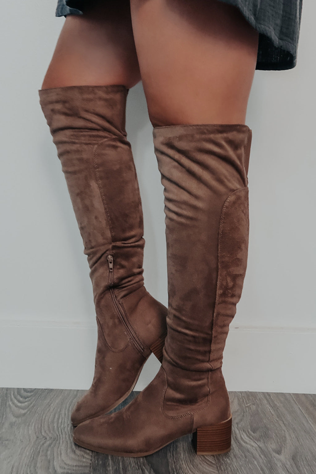 Different Directions Boots: Taupe