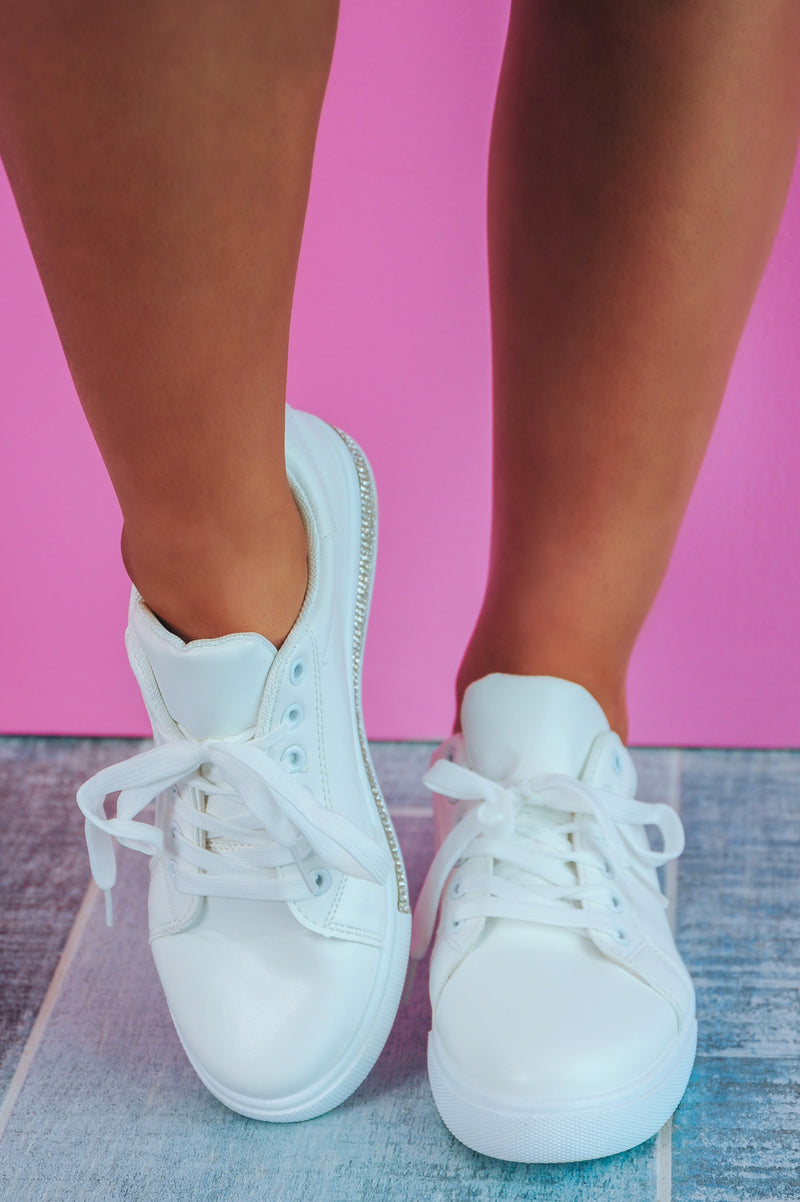 So Icy Sneakers: White/Silver