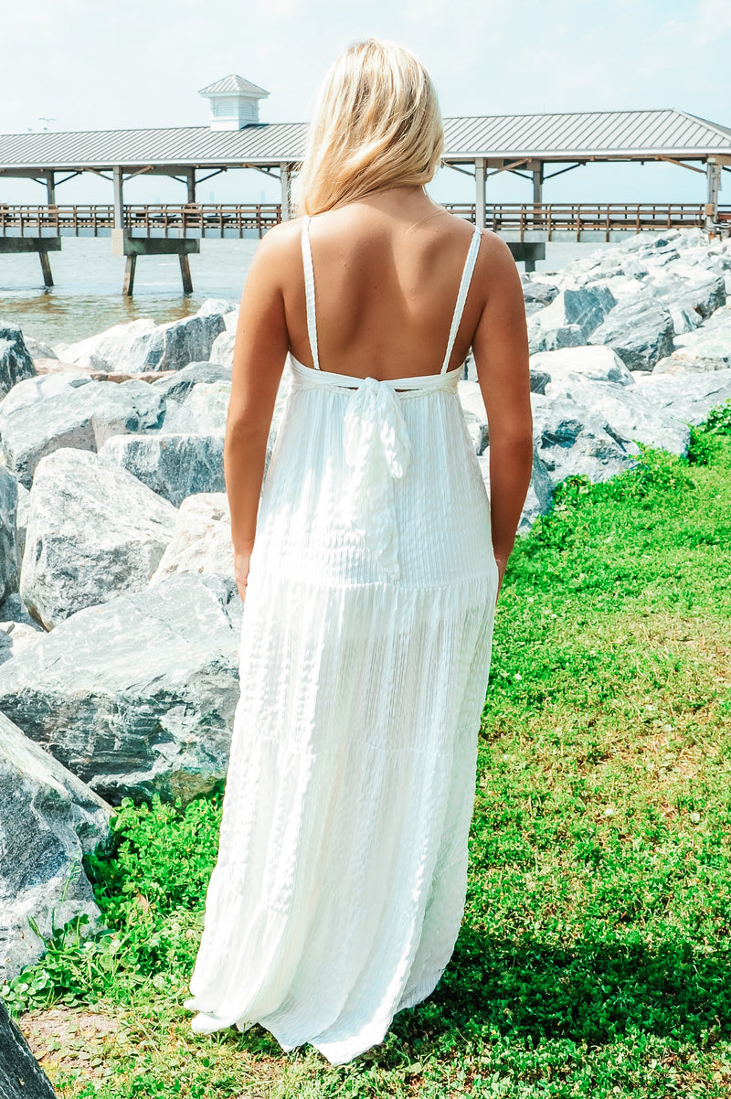 RESTOCK: My Number One Maxi: White