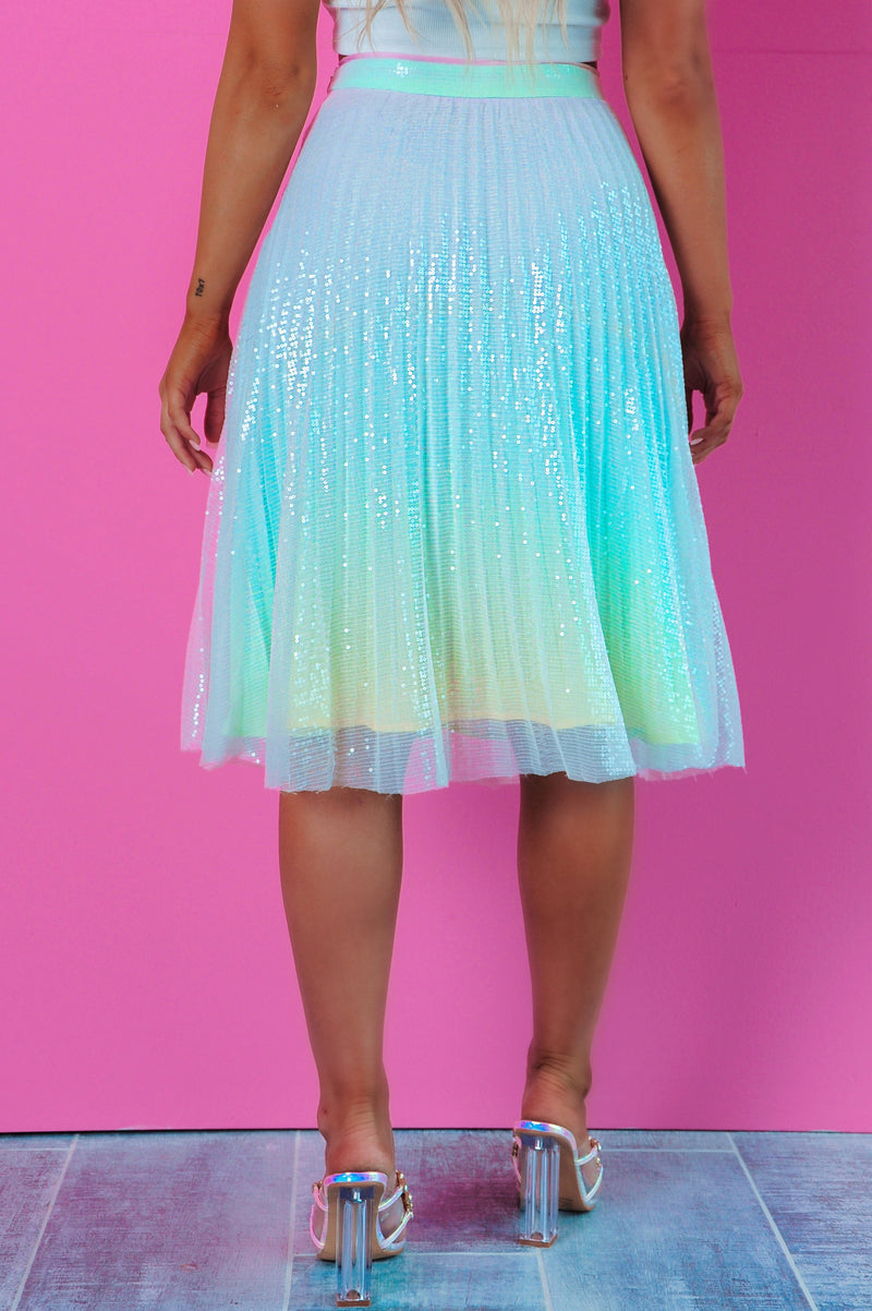 REORDER: Magical Wishes Skirt: Multi