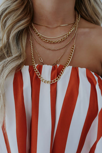 REORDER: Find Adventure Necklace: Gold