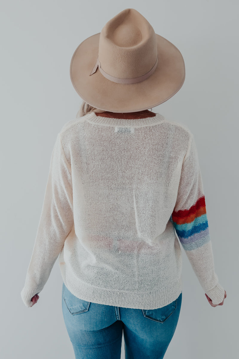 Over The Rainbow Sweater: Multi