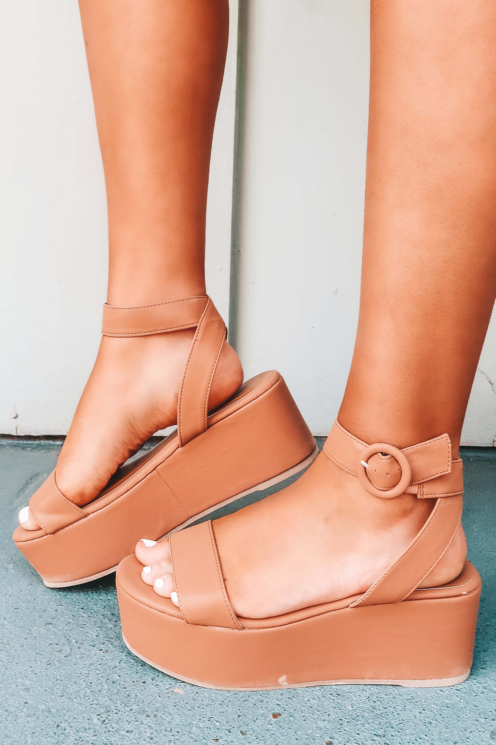 Here Forever Wedges: Tan
