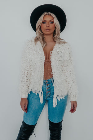 Flirty Babe Jacket: Ivory