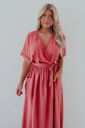 Back For More Maxi: Dusty Rose