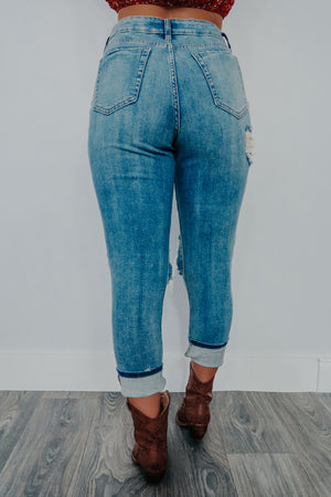 Slip Away Jeans: Denim