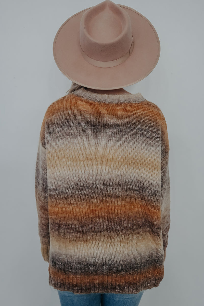 Canyon Sunset Sweater: Multi
